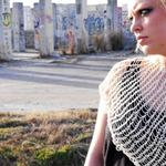open knit cotton shawl material, weight, color, size can be changed $15